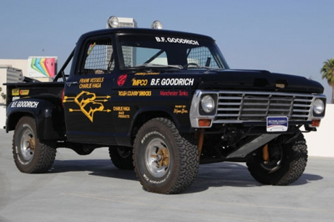"Frank ""Scoop"" Vessels' 1976 Ford F-100 Race Truck To Be Auctioned"