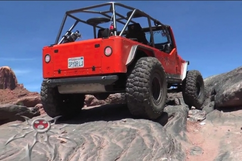 VIDEO: Crawling The Line On The Moab Rim Trail With Poison Spyder TV