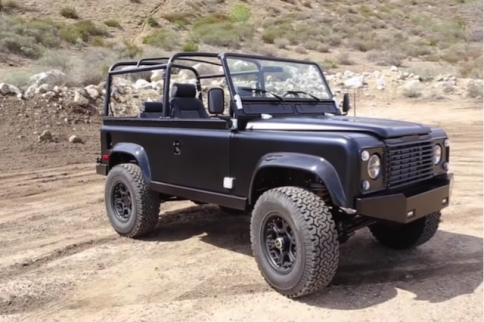 VIDEO: Wicked Resto-Mod LS3 Land Rover Defender From ICON