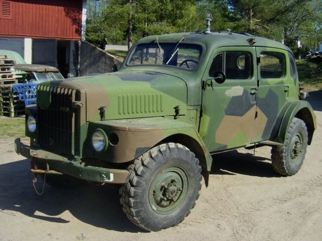 Vintage Monday The Volvo Tp21 Quot Sugga Quot Off Road Military