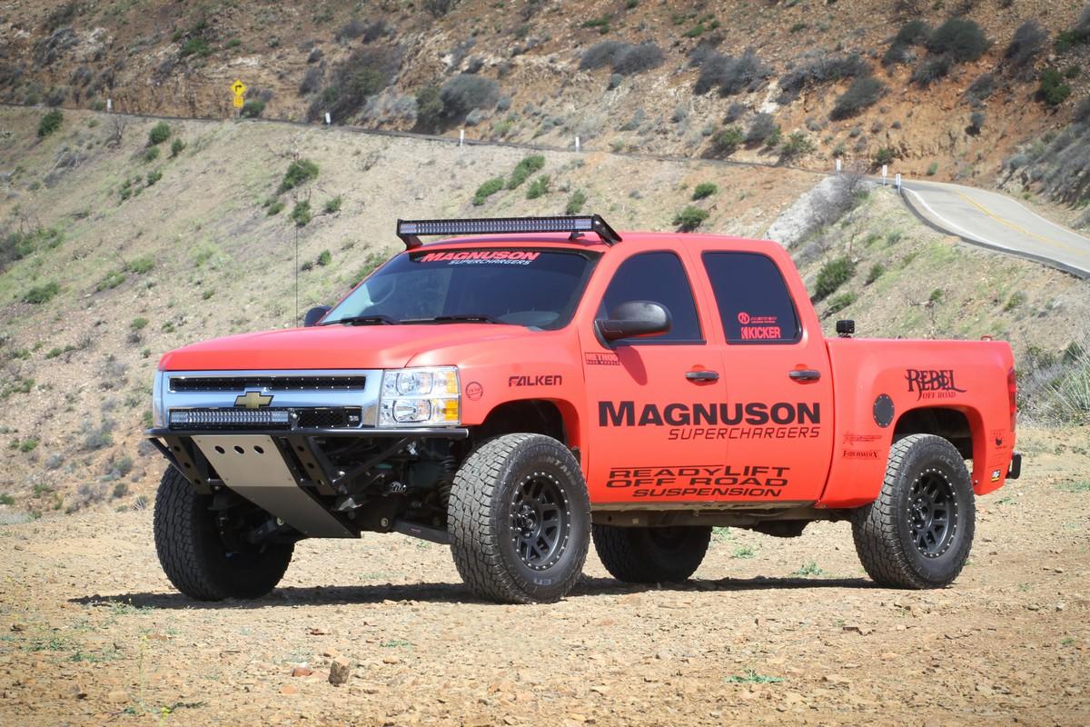 PRI 2013: Magnuson Jeep and Silverado Superchargers - Off