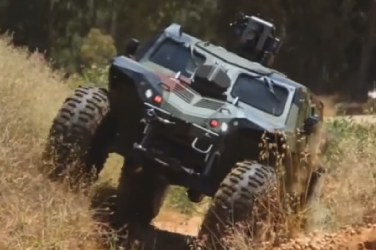 VIDEO: IMI Combat Guard - Halo's Warthog Meets Trophy ...