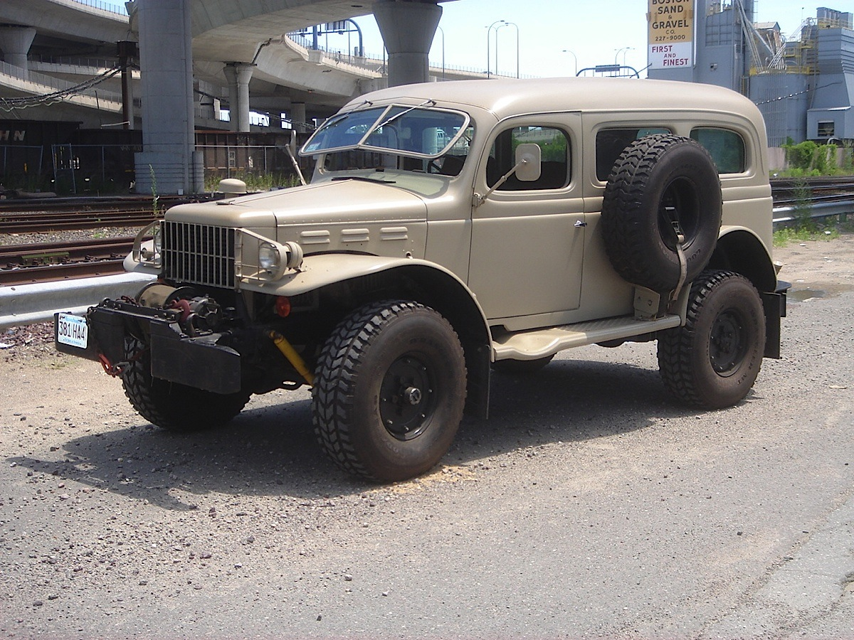 Resto Mod Workhorse 1942 Dodge Wc53 Carryall Turbodiesel