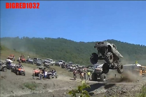 VIDEO: Mega Truck Sail Gets High Altitude At King Knob Freedom Fest!