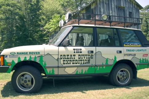 VIDEO: Great Divide Expedition Range Rover In Tread Lightly! Auction