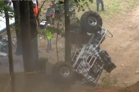 VIDEO: Dale Larsen Goes For A Wild Ride At SRRS Windrock Park
