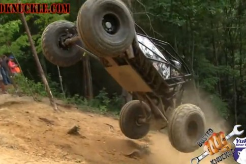 VIDEO: Jake Burkey And 'Riot' Buggy Catch Some Serious Air