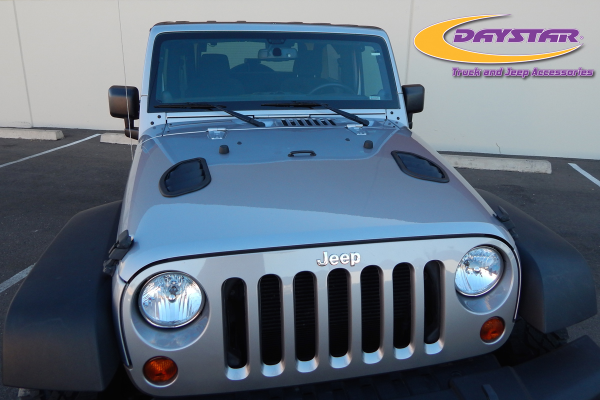 Daystar Products Jeep Wrangler Jk Hood Vents Off Road Xtreme