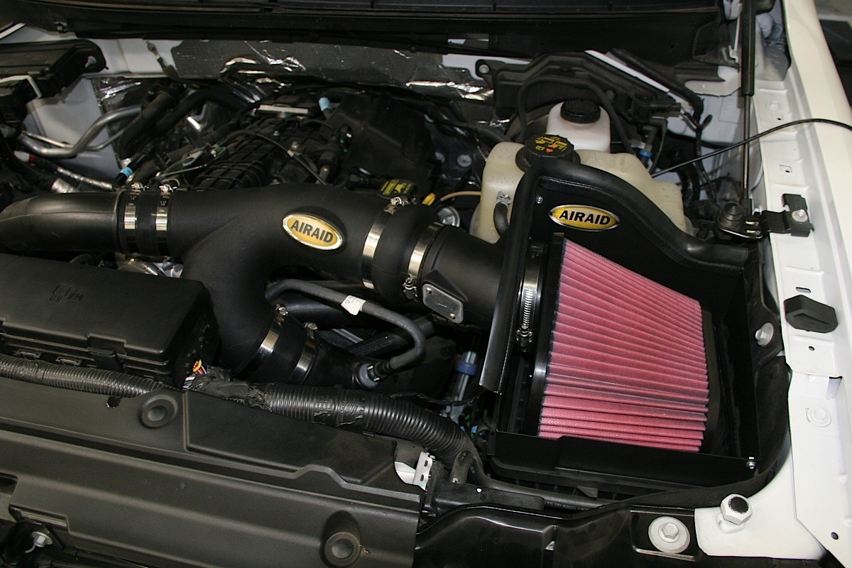 Livernois And Airaid Tune Up Our Ford F 150 Ecoboost Off