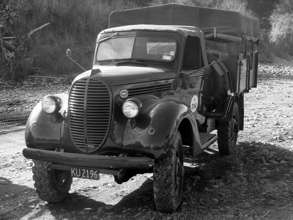Vintage Monday: Marmon-Herrington Trucks; The Jeep\'s Grandfather ...
