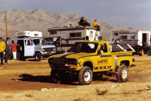 Vintage Monday: Spencer Low's '75 Datsun Racing Pickup