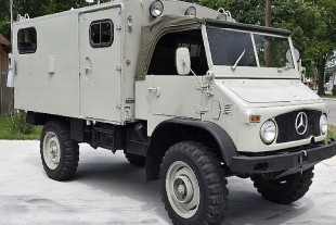 "What The Truck? ""Pawn Stars"" Mercedes Unimog Up For Sale"