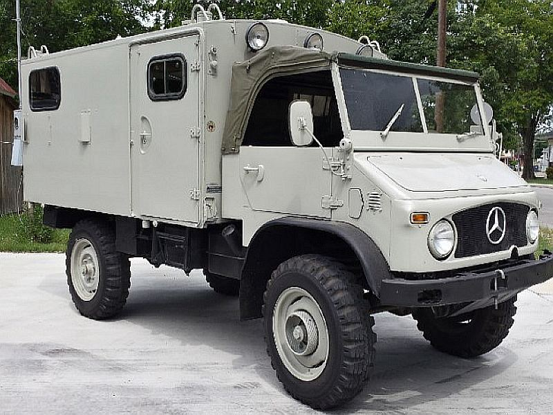 "What The Truck? ""Pawn Stars"" Mercedes Unimog Up For Sale ..."