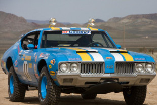 "Vintage Monday: The ""Goodyear Grabber"" 1970 Oldsmobile 442"