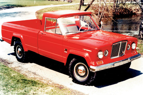 Vintage Monday: The Jeep Gladiator And Its Pickup Successor