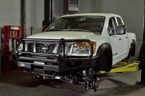 Video: Phase 2 Of The Nissan/Wounded Warrior Project Ultimate Titan