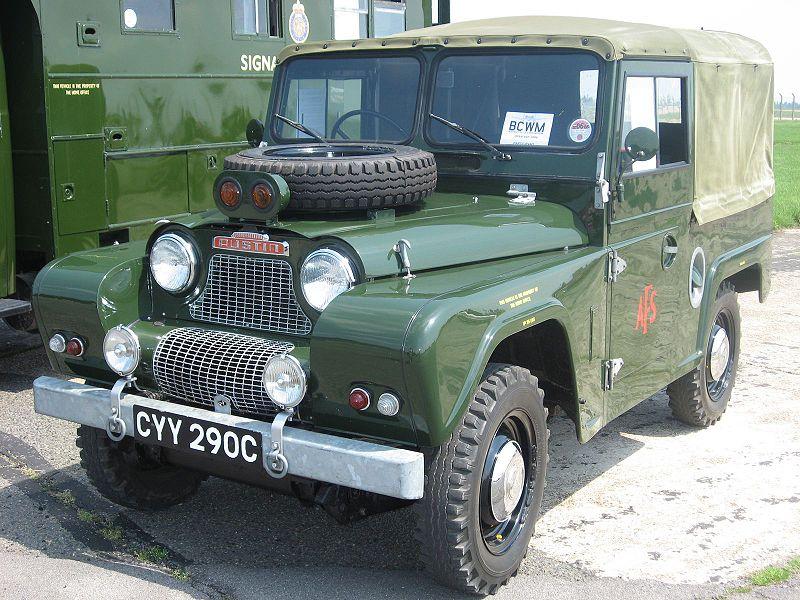 Vintage Monday: The British-Built Austin Gipsy