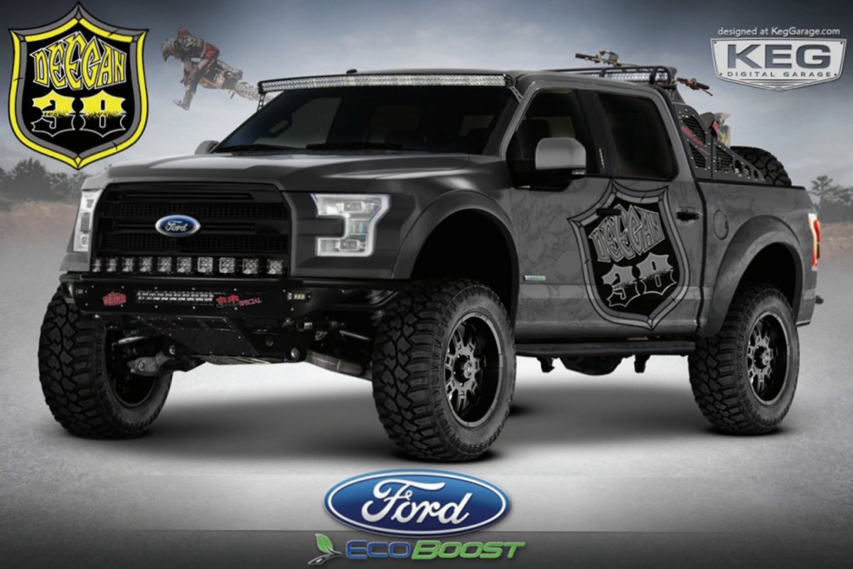 Awesome Ford F-150 Concept Trucks Coming To SEMA Show - Off Road Xtreme