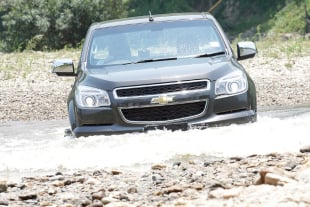 Determining Reliability: The Chevy Colorado Endures Water Testing