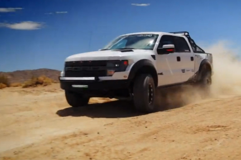 Video: Justin Pawlak's Roush Raptor Roars On Weld Racing Wheels