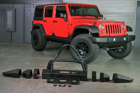 M/T Metal Series Bumpers Give Jeeps Much More Than A Tough Look
