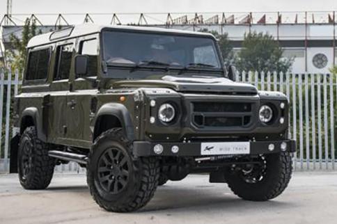 One-Off Land Rover Defender 110 Wide Track