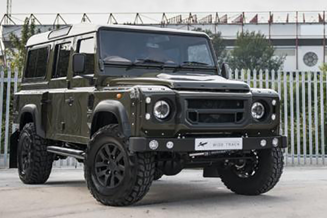 One Off Land Rover Defender 110 Wide Track Off Road Xtreme
