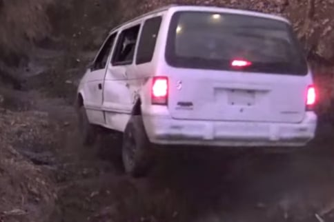VIDEO: Taking The Family Mini-Van Down Infamous Cable Hill Climb