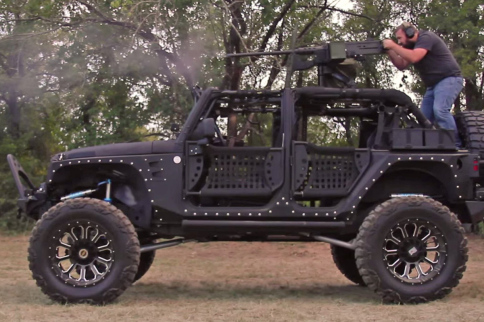 VIDEO: Custom Starwood Jeep With 50 Cal On Top Will Blow You Away!