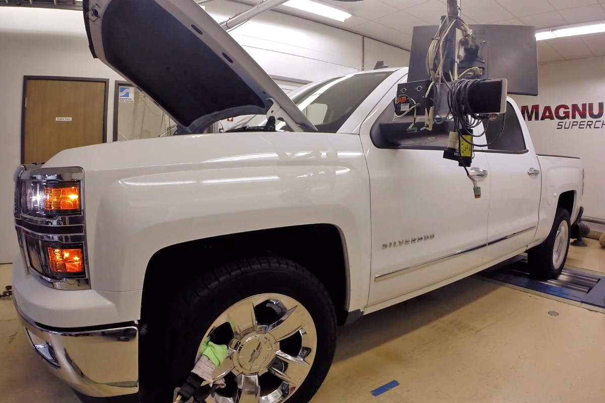 VIDEO: Magnuson Gets Nearly 600 HP From 2014 Silverado 6.2L V8!