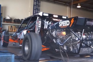 Video: Sand Car with 1,300 Horsepower LS 454 Warhawk Twin Turbo