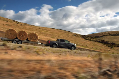 VIDEO: Hay Is For Horses, But Bales Of It Are For The 2015 F-150