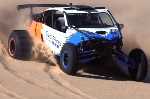 Video: Funco GTQ is an LS7-Powered Sand Monster