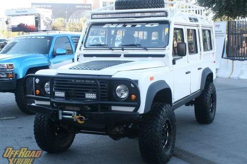 This Land Rover 110 Offers Up More Than a Couple of Surprises