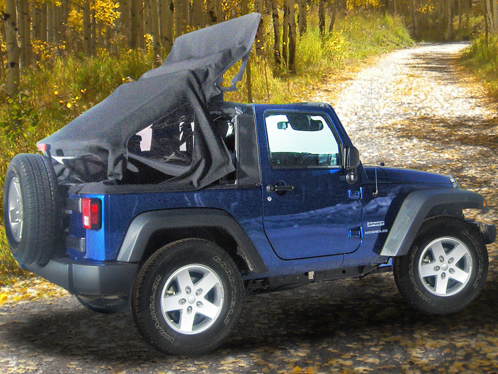 myTop Offers Motorized Soft Top for Jeep Wranglers - Off ...