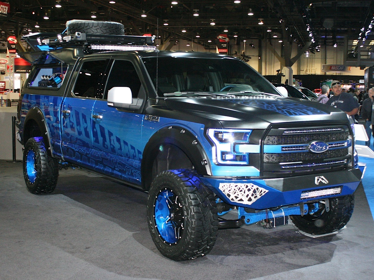 A 2015 Ford F-150 Project Truck Built For Action Sports ...