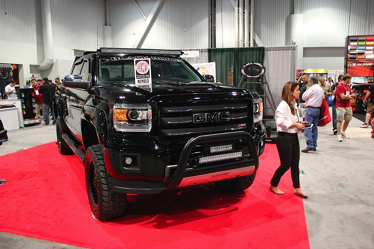 SEMA 2014: Black Horse Off Road Kicks Off The Fun In Las ...