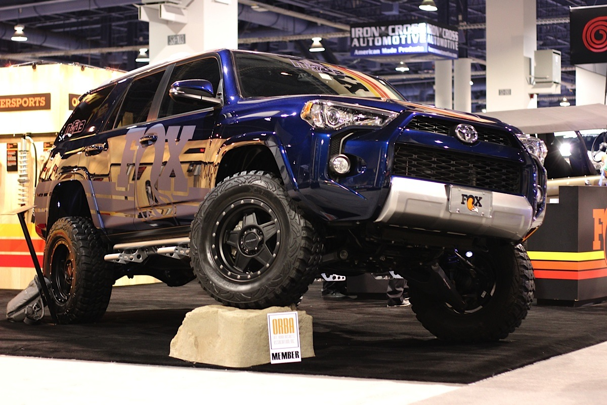 The Fifth Gen Toyota 4runner Built For Action At Sema 2014 Off Road Xtreme