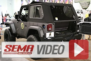 SEMA 2014: New Trektop Pro soft top with Glass Windows from Bestop