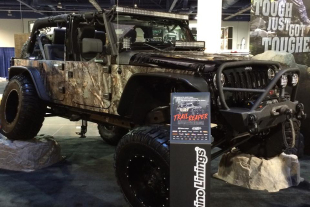 SEMA 2014: The Trail Reaper Is On Location In Rhino Lining's Booth