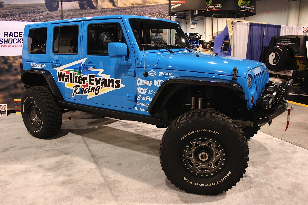 Sema 2014 Walker Evans Racing Changes Things Up Off
