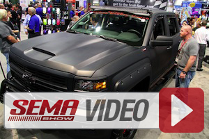 SEMA 2014: Sherwin-Williams Paint Stands Out On Childress Truck