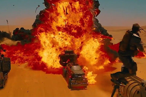 Cars, Explosions, Guns, HELL YEAH! Mad Max: Fury Road Trailer #1