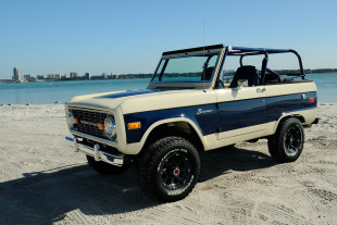 Chris Forte's 1975 Bronco Beach Cruiser