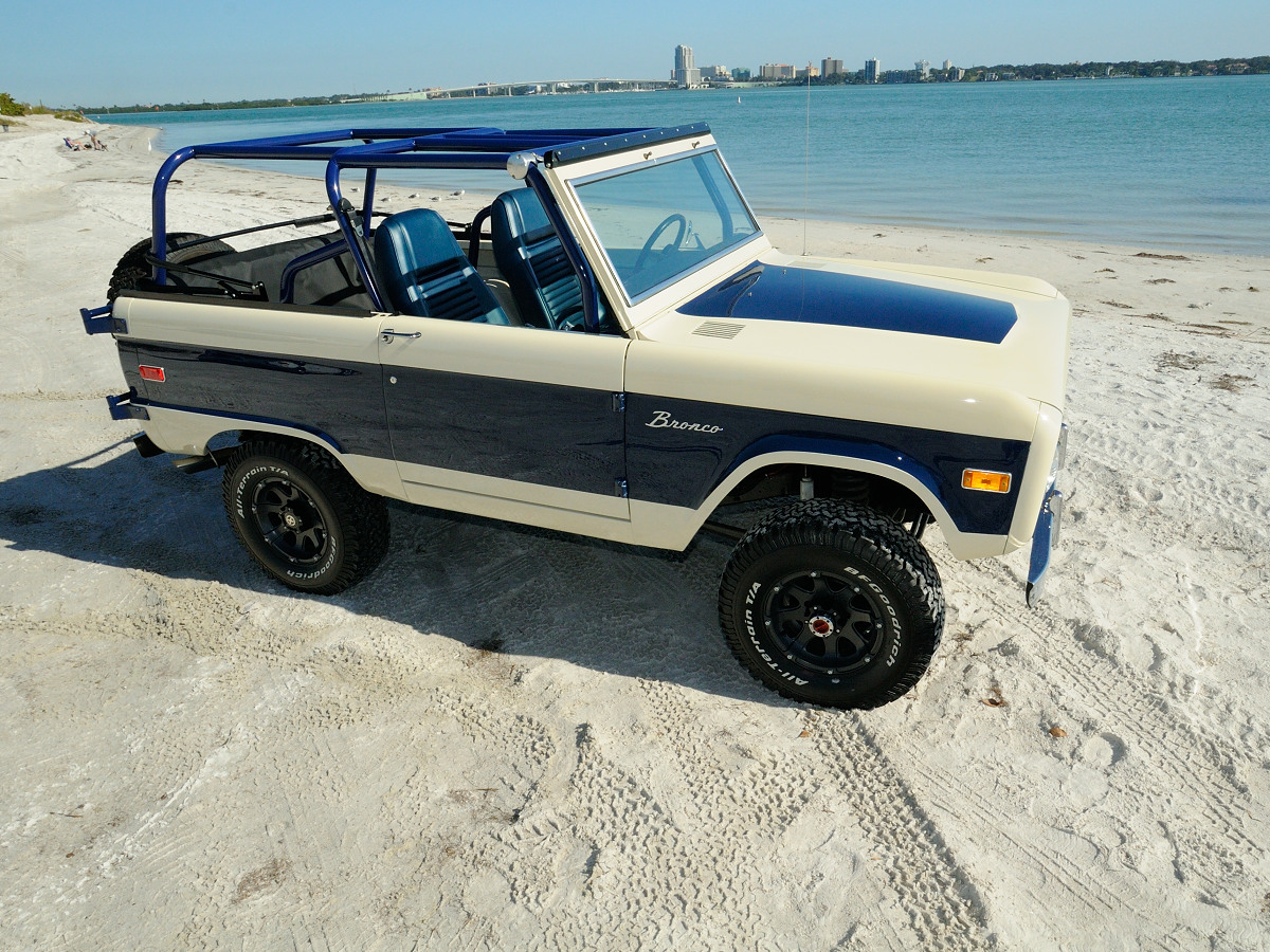 Chris Forte S 1975 Bronco Beach Cruiser Off Road Xtreme
