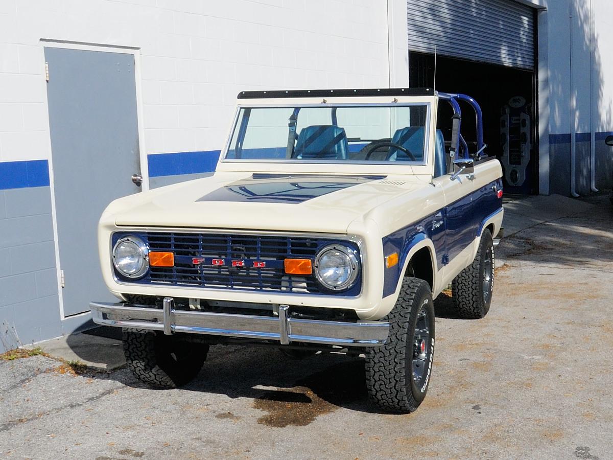 Chris Forte S 1975 Bronco Beach Cruiser Off Road Xtreme
