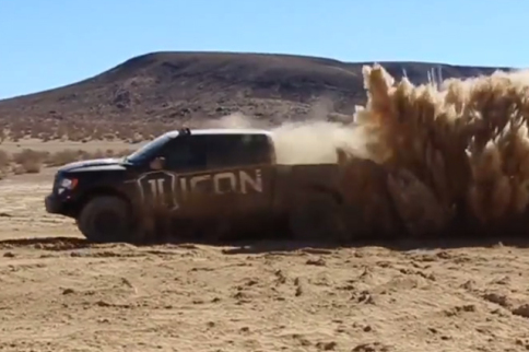Video: ICON Vehicle Dynamics Raptor RXT Rear Suspension Kit Rocks