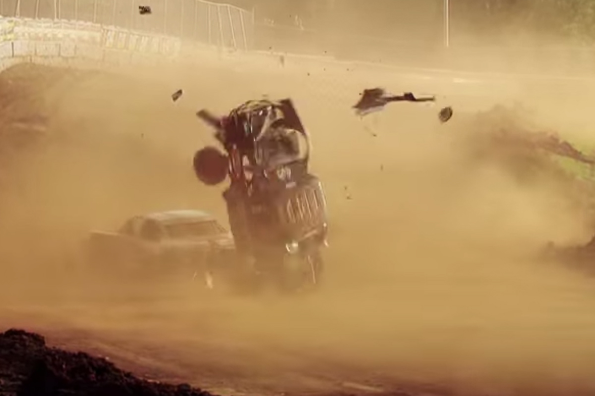 Video: TORC Wreck of The Year - Insane Wipeout by Mark Kvamme