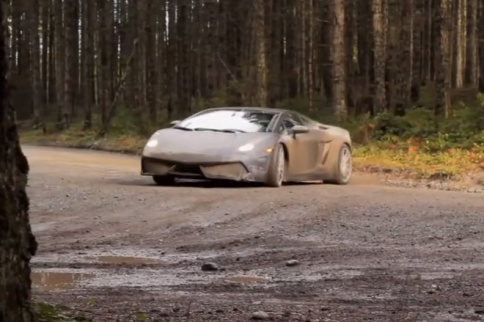 Video: Lamborghini Gallardo Off Roading WRC-Style