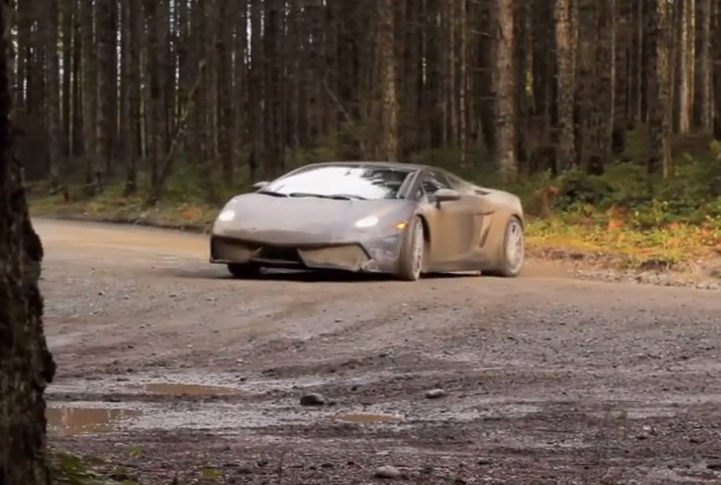 Video Lamborghini Gallardo Off Roading Wrc Style Off Road Xtreme